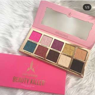 Jeffreestar Beauty killer Palette