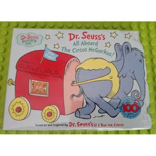 All Aboard the Circus McGurkus (Dr. Seuss Nursery Collection) Board book