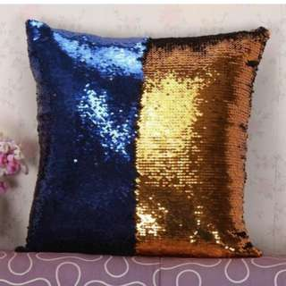 Reversible Sequins Mermaid Throw Pillow set