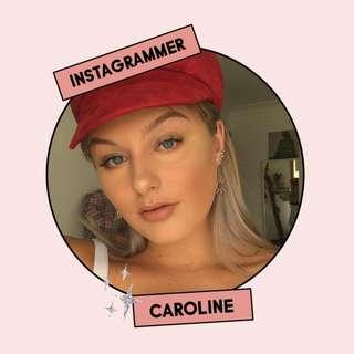 Caroline, Instagrammer