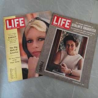 跨越五十載  Life雜誌 亞洲版 2本