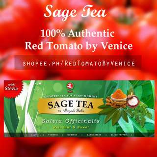 Green Sage Tea with Turmeric Mangosteen Stevia Moringa Tea