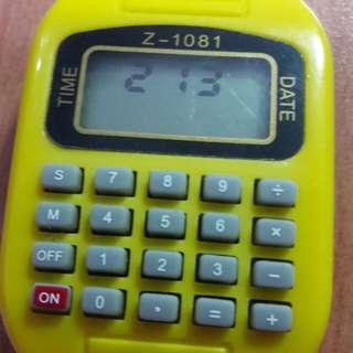 🚚 電子手錶計算機