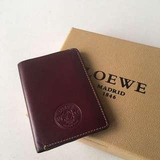Loewe slim cardholder