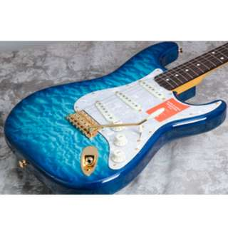 Fender Japan ST62 Special Run Quilted Top Aqua Blue