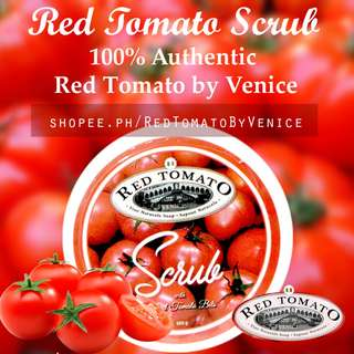 Red Tomato BODY SCRUB by Venice - 100% Authentic