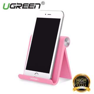 UGREEN Universal Stand for Mobile Phones (Rose Red, White)