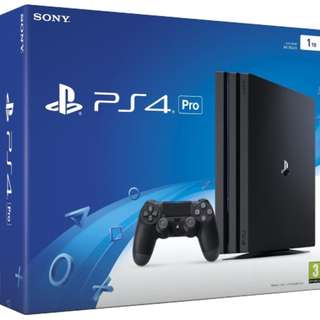 new ps4 pro 1tb game console. non-local set which is brand new in box