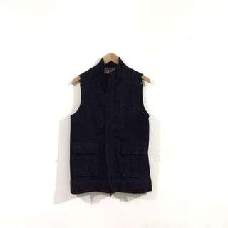 CABANE de TOM Black Cargo Vest