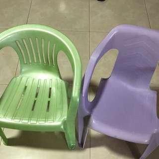 Kids Chair each $7