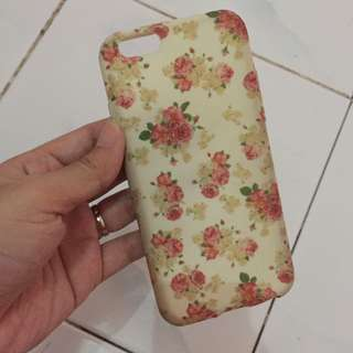Softcase flower iphone6