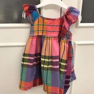PL BABY GAP CHECKERED DRESS (18-24 months old)