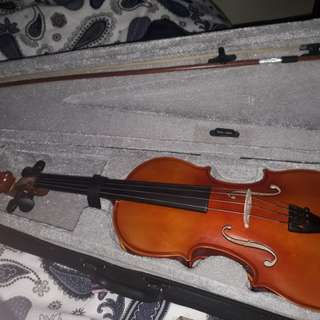 Mozart 4/4 violin (naturally glossy)
