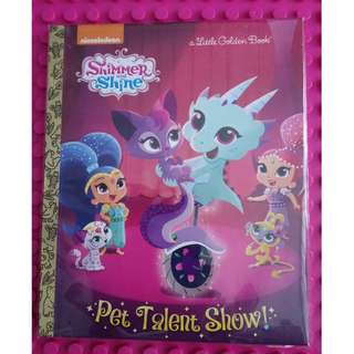 Pet Talent Show! (Shimmer and Shine) (Little Golden Book)