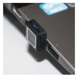 美國 BIO-Key USB 電腦指紋鎖 Side Pass USB Finger Print Reader for Windows Hello