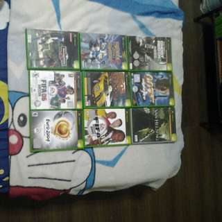 Xbox first Generation games on sell (Used)