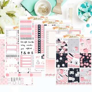 Kitcat - Planner Stickers