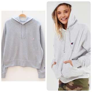 CHAMPION HOODIE JUMPER Sweater Jumper Grey