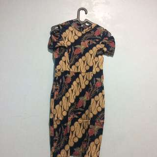 Batik pekalongan dress All size