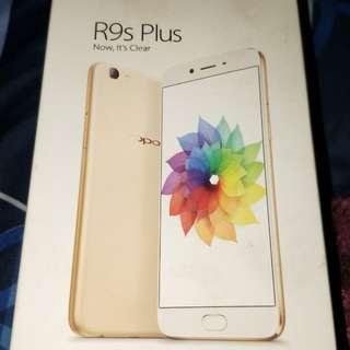 OPPO r9s Plus ( 可議價 / 9成新以上 / 配件完整 / 附藍色手機殼 )