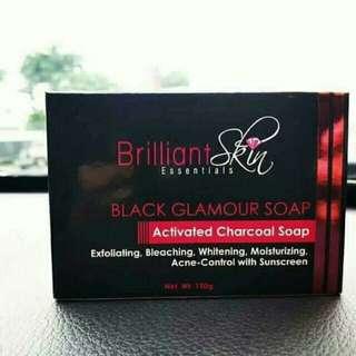 Brilliant Black Glamour soap 150grams