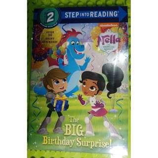 The Big Birthday Surprise! (Nella the Princess Knight) (Step into Reading)