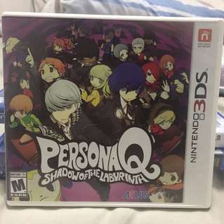 [3DS] PersonaQ Shadow of the Labyrinth