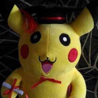 Pikachu angkat izazah