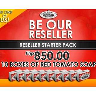 Reseller Package - Red Tomato Soap by Venice 100% Authentic