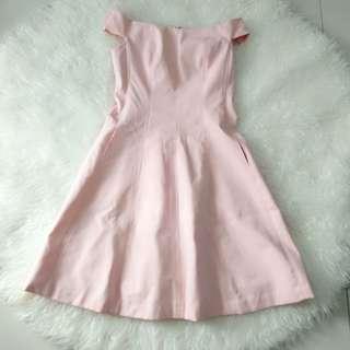 Dress sabrina pink