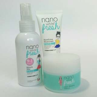 [REDUCED]Nano White Fresh skincare (suitable for oily skin)