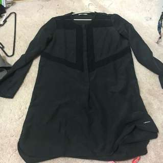 Calvin Klein dress. Worn once. Small tear on the side. Can be easily fixed.