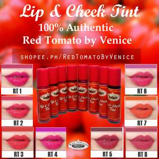 Red Tomato Water Candy Lip Tint and Cheek Liptint Lipstick
