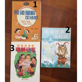 Upper Pri Chinese English Maths Assessment Books