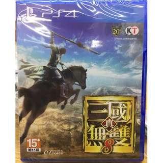 PS4 真三國無雙8  行貨 中文版 全新