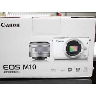 Kredit Canon EOS M10 FREE memory card + uv filter + tas