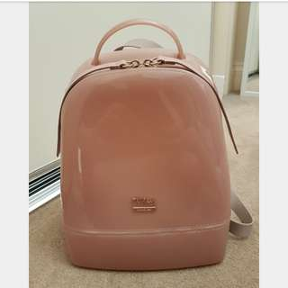 Authentic Furla Candy Backpack Moonstone