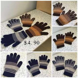 (Used)Set Of 2 Unisex Gloves