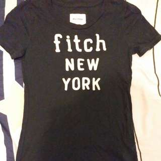 Abercrombie and Fitch AnF A&F tee t恤 t-shirt