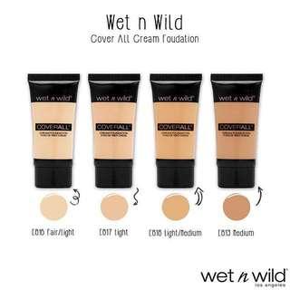 BNIP Wet n Wild CoverAll Crème Foundation (Medium)