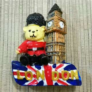 Magnet Kulkas Boneka Big Ben London