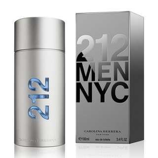 CAROLINA HERRERA 212 NYC EDT FOR MEN (50ml/100ml/Tester) CH New York City