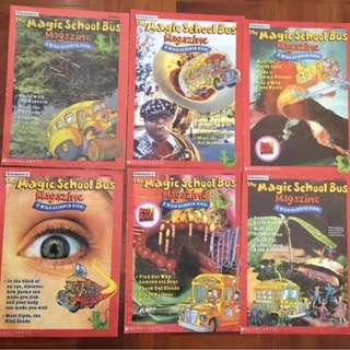 Scholastic Magic School Bus Science Magazines 20 Issues