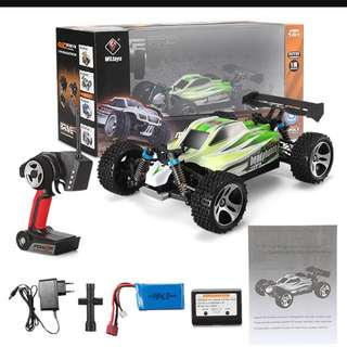 [BNIB] WLtoys A959 - B 1/18 Scale 2.4G 4WD 70km/h Remote Control Off-road Electric Car / buggy RTR