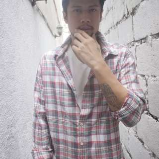 Plaid Polo from f21 MEN