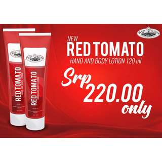 Red Tomato Hand and Body Lotion SPF 75 Authentic by Venice