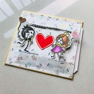 Customised Handmade Slider Card