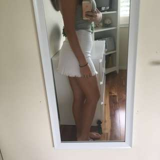 Princess Polly White Skirt