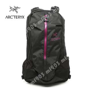 限量 Arcteryx Arro 22 Backpack Black/Violet 別注背包 不死鳥 Mystery Ranch 背包 Visvim 行山背囊 防水書包 旅行袋