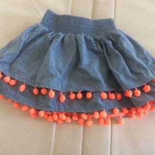 Cutest Pom Pom skirt